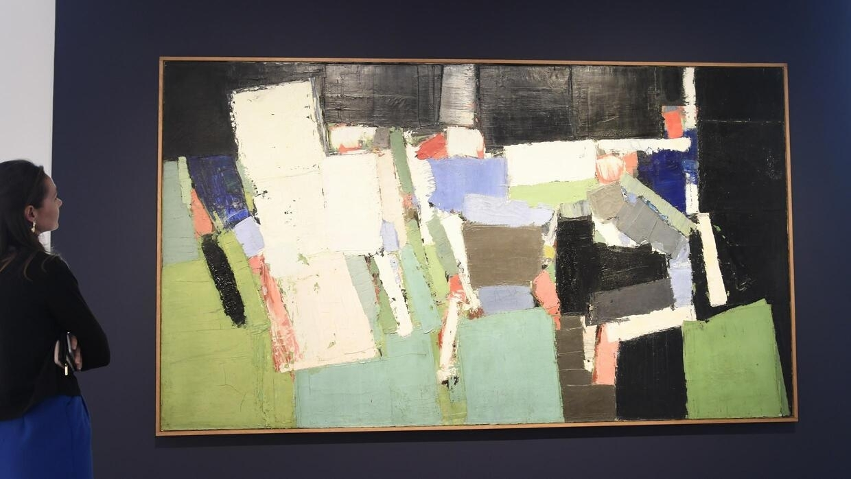 Nicolas de Stael painting of football match sold for record 20 million euros