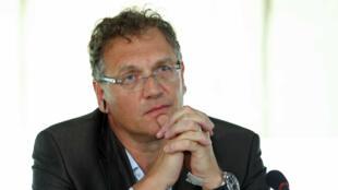 Jérôme Valcke, FIFA's secretary general, in Brazil on April 22, 2014