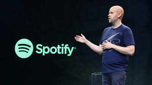 Daniel Ek, fondateur de Spotify.