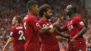 Salah, Mané, Firminho, la triplette gagnante de Liverpool.