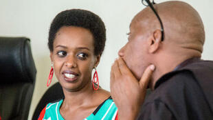La rwandaise Diane Rwigara lors de son procès à Kigali, le 7 novembre 2018.