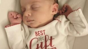 الطفلة إيما ورين غيبسن ولدت في 25 نوفمبر/تشرين الثاني 2017