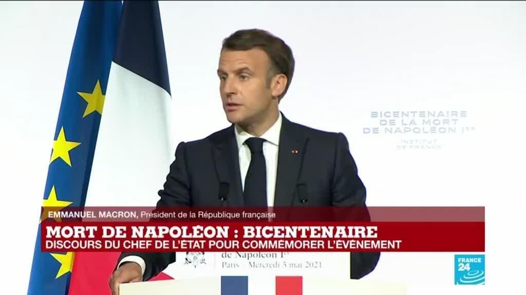 Discours d'Emmanuel Macron à l'occasion du bicentenaire de la mort de Napoléon