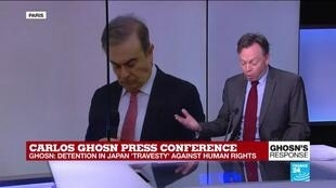 """2020-01-08 16:15 Carlos Ghosn press conference: """"He sounds like a man who believes the world is treating him badly"""""""