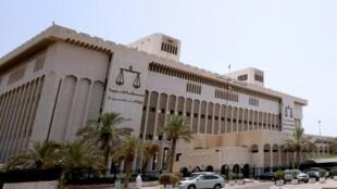 صورة لقصر العدل في الكويت