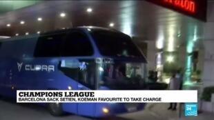 2020-08-18 11:11 FC Barcelona sacks manager, but fans not assuaged