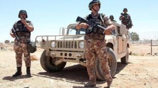 عناصر من الجيش الأردني