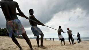 Many coastal communities in Sierra Leone depend on fishing for food and their livelihood