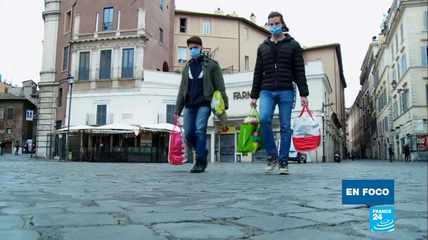 En foco Italia confinamiento