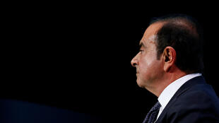 El expresidente de la alianza Renault - Nissan - Mitsubishi, Carlos Ghosn, en el Paris Auto Show. 1 de octubre de 2018.