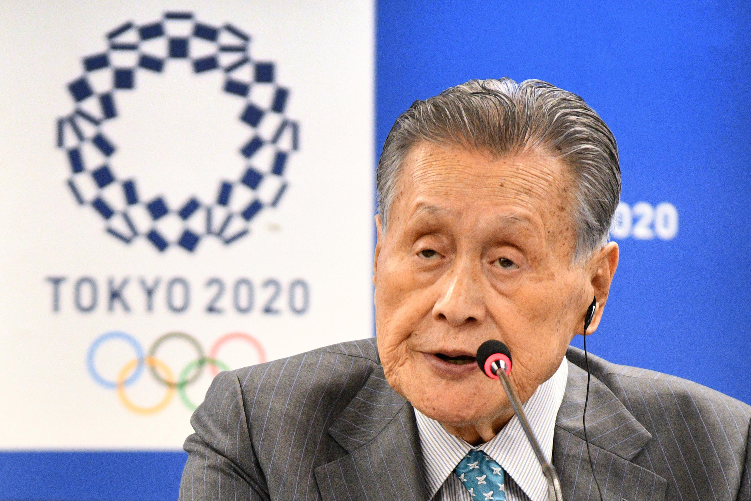 Tokyo 2020 chief Yoshiro Mori said there was no prospect of delaying the Olympics to 2022