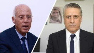 El académico Kaïs Saïed, con el 18,4 % de los votos, y Nabil Karoui, con el 15,58 %, se enfrentarán en la segunda vuelta de las elecciones presidenciales tunecinas.