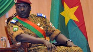 Le colonnel Isaac Zida a été nommé Premier minstre intérimaire à la suite de la chute de Blaise Compaoré le 31 octobre.