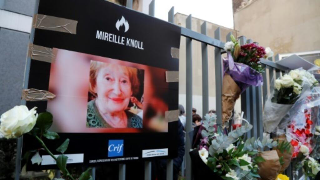 Meurtre de Mireille Knoll : le caractère antisémite retenu contre les deux suspects