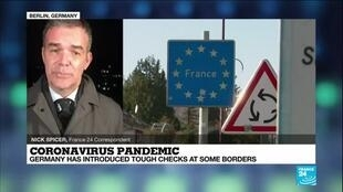 2021-03-01 09:11 Coronavirus pandemic in Europe: Germany introduces tough checks at some borders