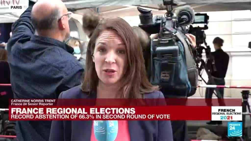 2021-06-27 20:31 France regional elections: Right-wing incumbent Pecresse favoured in Paris region