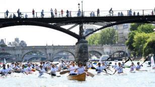 Les journées olympiques, organisées vendredi et samedi à Paris pour promouvoir la candidature aux JO de 2024.