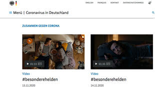 Couch potatoes to the rescue in new German coronavirus-awareness campaign.