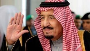 العاهل السعودي الملك سلمان عبد العزيز في جلسة مجلس الشورى السعودي في 14 كانون الأول/ديسمبر 2016