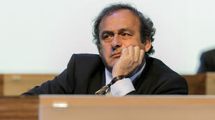 Michel Platini, lors du Congrès de la Fifa, le 11 juin 2014 à Sao Paulo.
