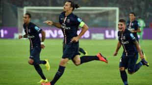Zlatan Ibrahimovic, la star inconstestée de la Ligue 1.