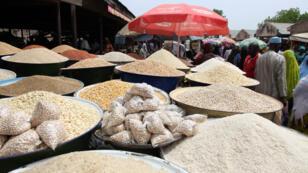 Un marché de Yola, dans l'État nigérian de l'Adamawa, le 8 mai 2015.