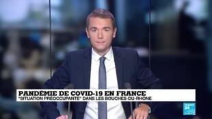 2020-08-25 06:08 Covid-19 : à Marseille, la propagation du virus s'intensifie