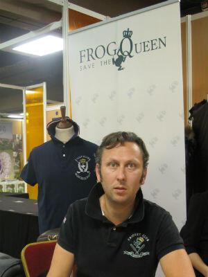 Sébastien Mounier, créateur de la marque Frog Save the Queen.
