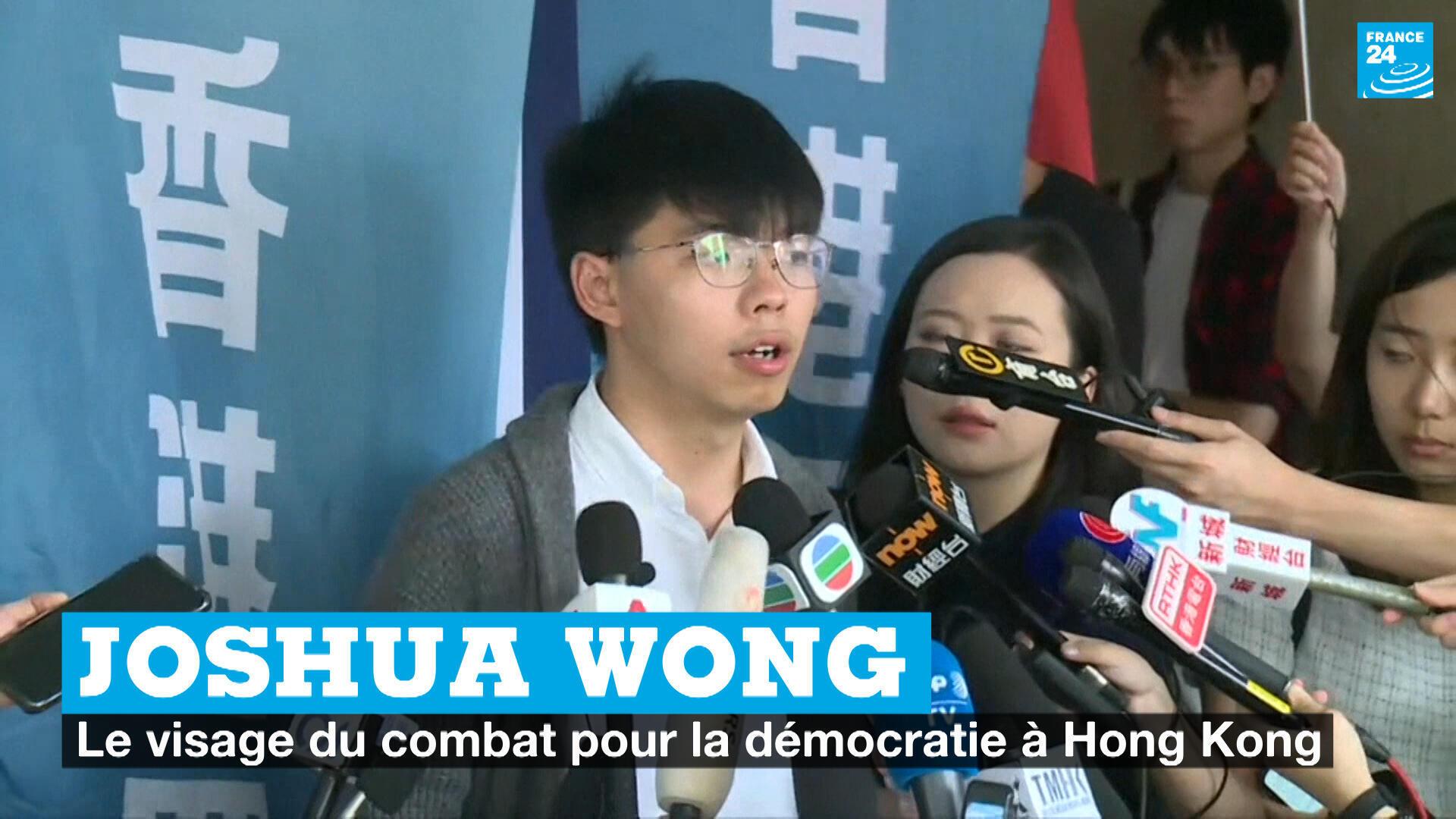 Joshua Wong : le visage du combat pour la démocratie à Hong Kong