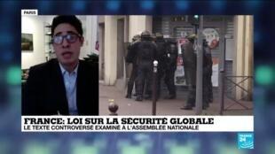 """2020-11-17 13:11 Des journalistes vent debout contre la loi """"sécurité globale"""""""