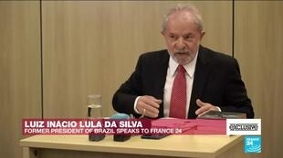"2019-10-11 12:44 #EXCLUSIVE - Lula on FRANCE24: ""Brazil is going through a process full of lies"""