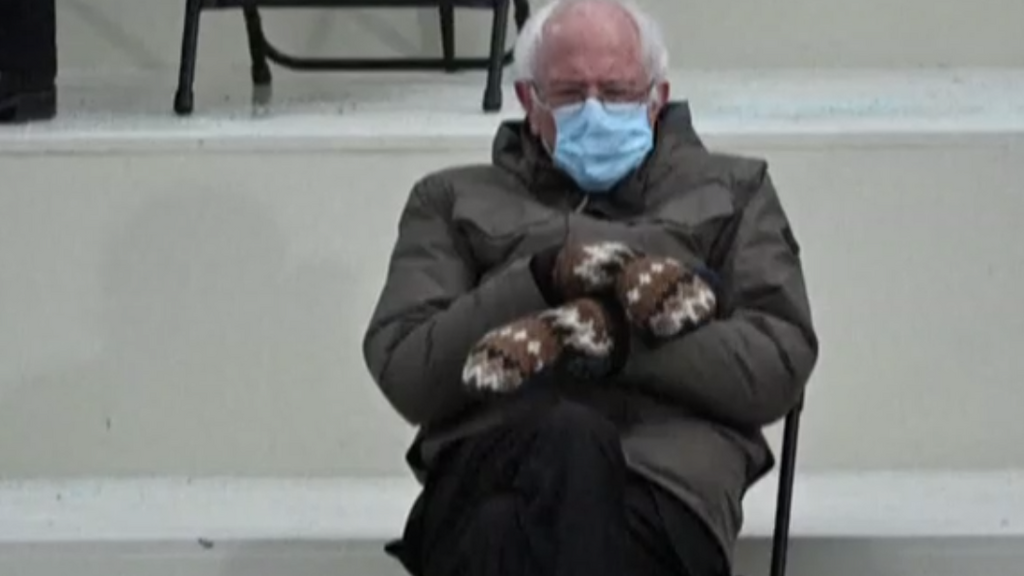 Sanders' mitten-maker becomes famous after gloves steal inauguration show