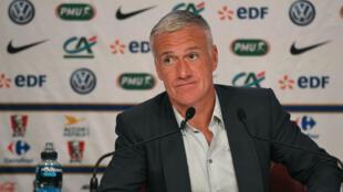 Didier Deschamps, le sélectionneur de l'équipe de France de football, le 17 mars 2016.