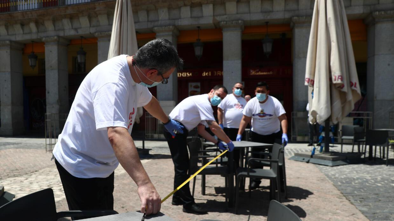 Covid-19 : Madrid et Barcelone retrouvent leurs terrasses, les touristes attendus en juillet