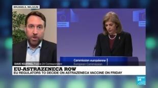 2021-01-28 18:08 EU requests inspection of AstraZeneca vaccine production in Belgium