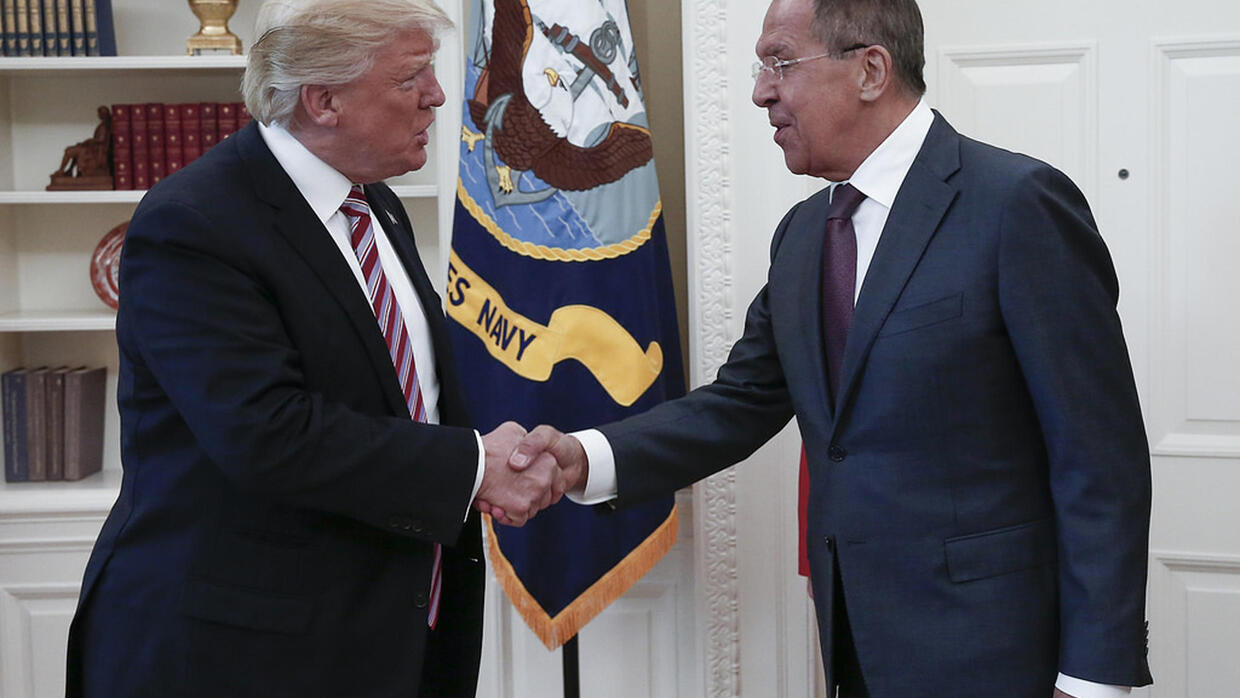 Russia's top diplomat to visit White House amid impeachment