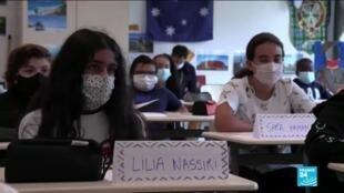 2021-01-13 17:12 'No need' to close schools despite British virus variant, French scientific advisor says