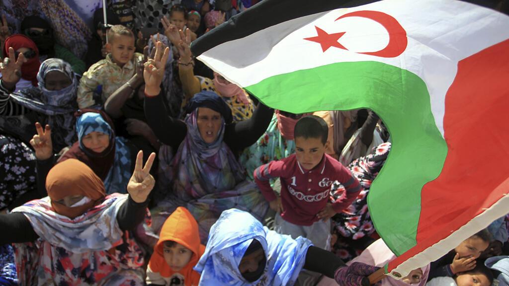 Uno de los problemas principales entre Argelia y Marruecos está referido a la situación del Sahara Occidental. Aquí, refugiados saharauis celebran, en el sur argelino, el 45° aniversario de la creación de la República Árabe Saharaui Democrática. 1° de marzo, 2021, Tindouf, Argelia.
