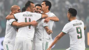 L'Algérie n'a fait qu'une bouchée de la Colombie, mardi 15 octobre 2019.