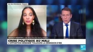 2020-07-28 16:05 Crise politique au Mali, une fin de non recevoir.