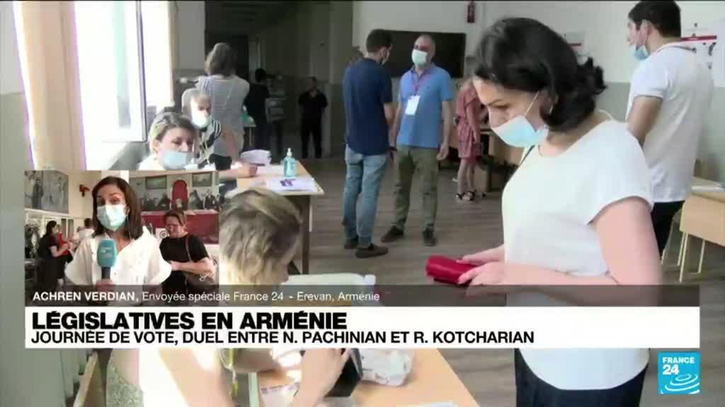 2021-06-20 16:00 Arménie : les Arméniens aux urnes pour des législatives à l'issue imprévisible