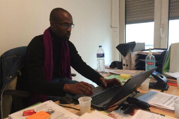 Hamady Mbobj, chef de service du CHU-Jaurès, à Boulogne-Billancourt, en région parisienne.
