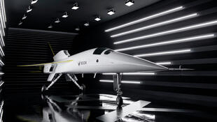 شركة أمريكية تكشف عن طائرة ركاب تجارية أسرع من الصوت