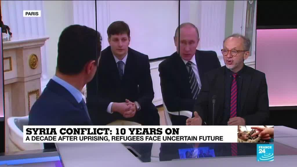 2021-03-15 09:32 Syria conflict 10 years on: Why is Russia involved in Bashar al-Assad's war