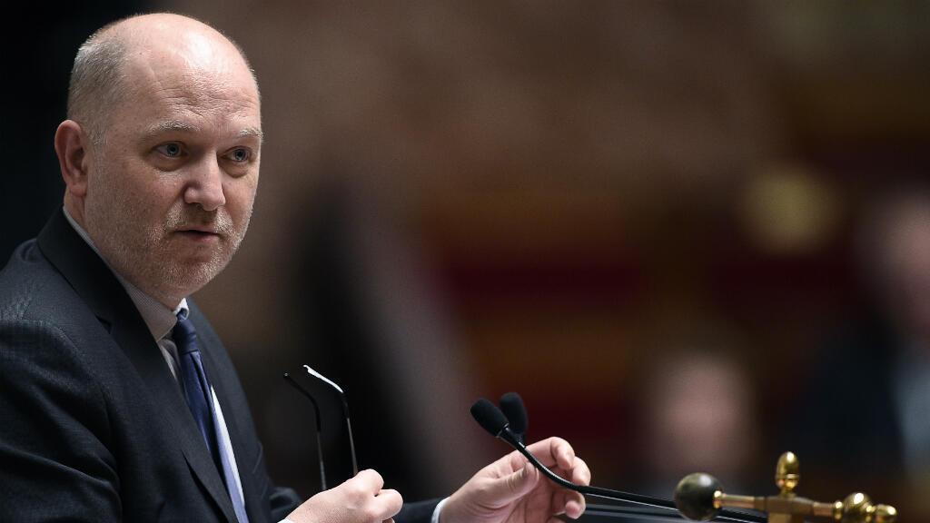 Le vice-président de l'Assemblée nationale, Denis Baupin, durant une session de questions au gouvernement, le 2 décembre 2015 à Paris.