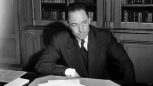Albert Camus, Nobel de littérature en 1957.