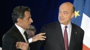 الرئيس السابق ساركوزي ورئيس الوزراء الأسبق جوبيه أبرز مرشحي اليمين الفرنسي للرئاسة