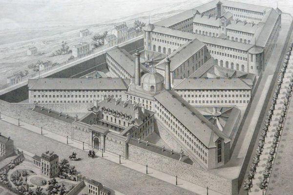 La Santé Prison, named because it is located on Rue de la Santé in Paris 14th district, was inaugurated in 1867.