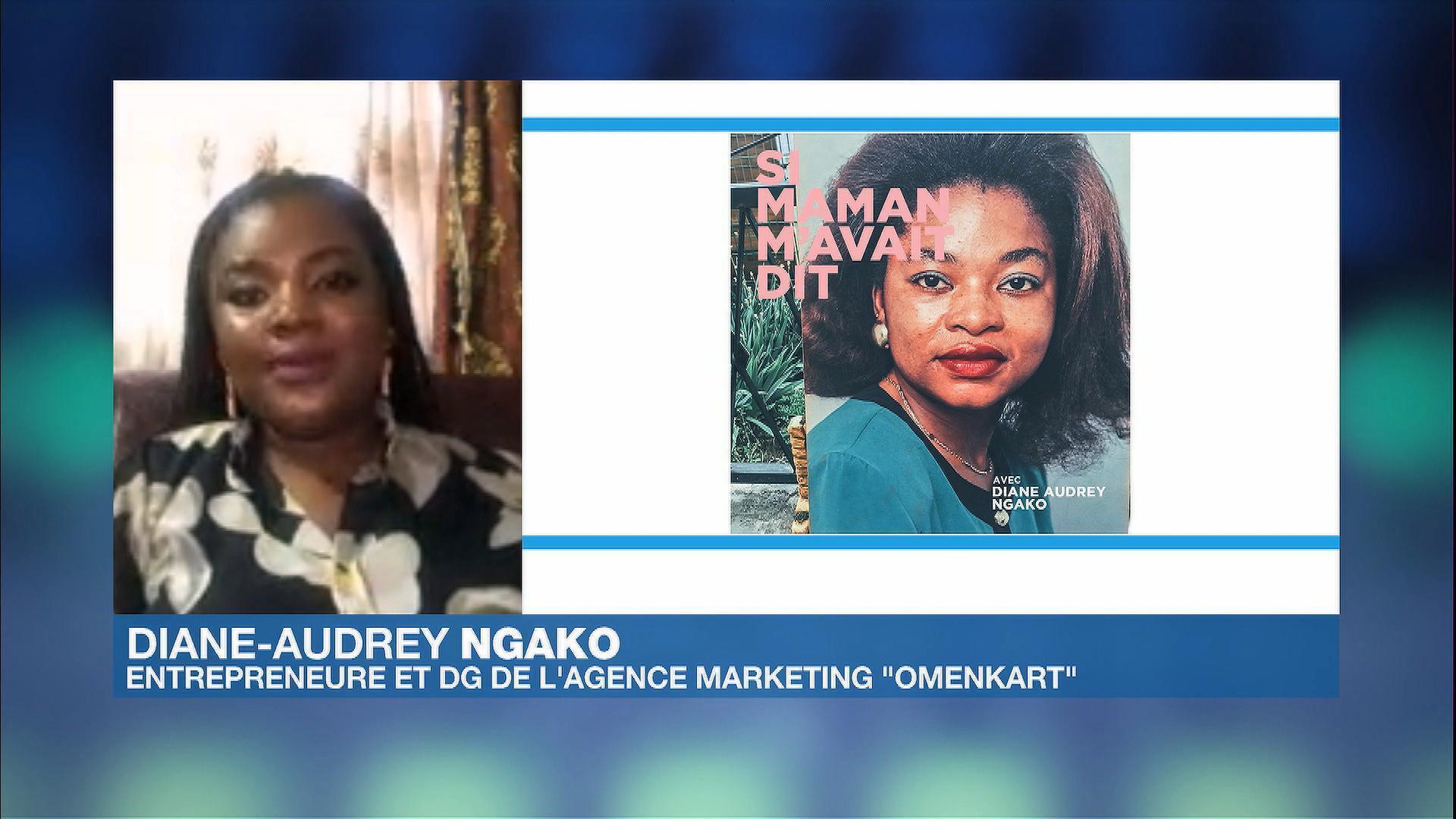 Diane-Audrey Ngako dans Afrique Hebdo