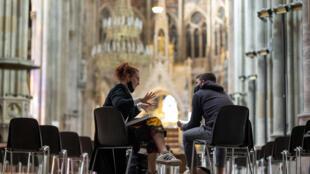 Vienna University is having to adapt its teaching methods in face of the coronavirus pandemic